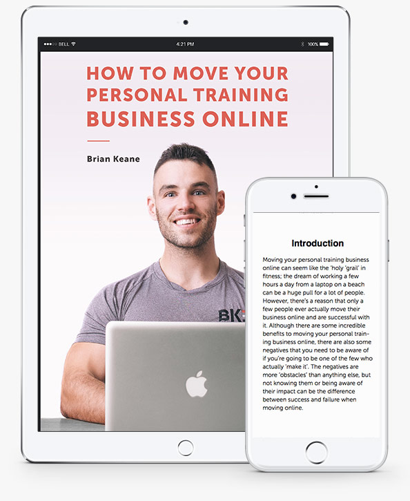 How to move personal fitness business online - ebook download free