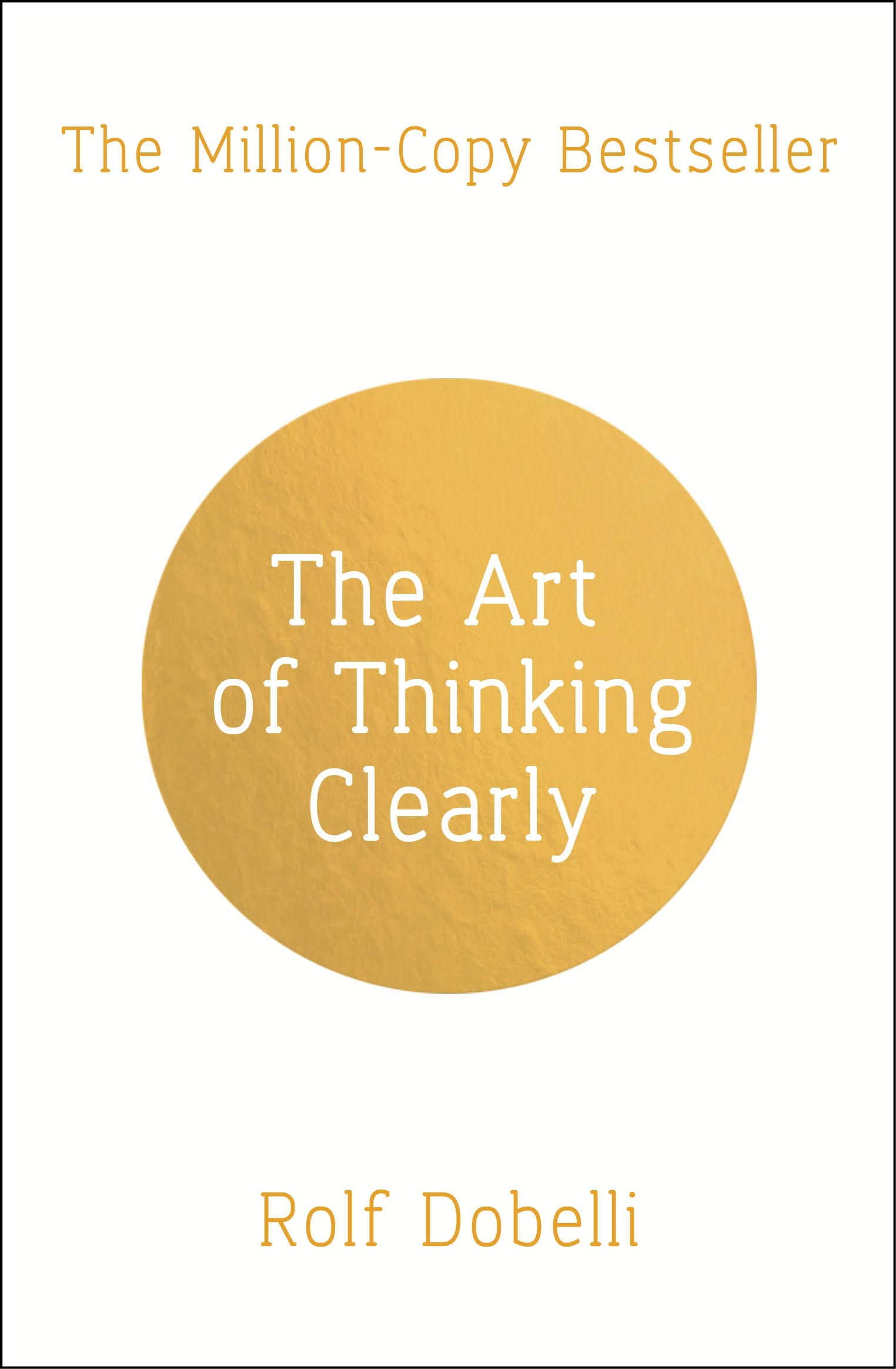 Recommendation - The Art of Thinking Clearly